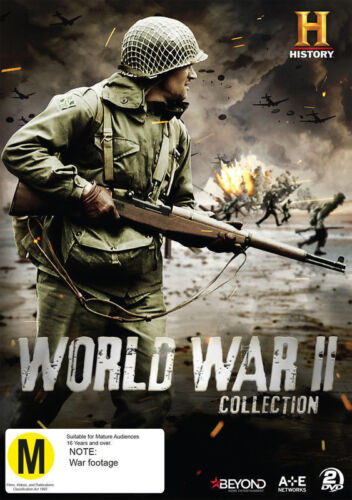 World War II Collection: WWII From Space / D-Day:Lost Films (DVD, 2016)