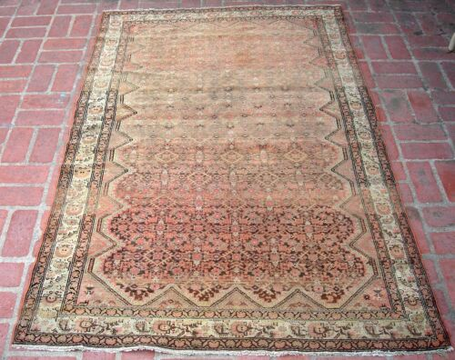 A Nice Antique Rug with Fine Weave