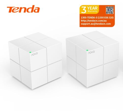 Tenda Nova MW6 (2 Pack) Whole Home Mesh Router WiFi System cover up to 350sqm