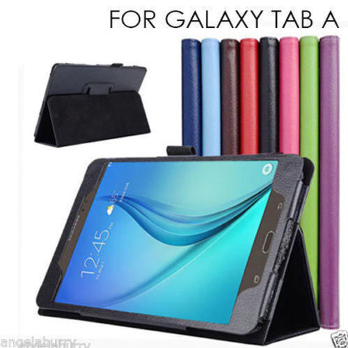 "Flip Leather Case Cover For Samsung Galaxy Tab A 10.5"" 9.7"" 8.0"" 2017 10.1"" 2019"