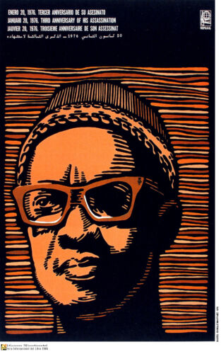 Political Poster.AMILCAR CABRAL.African Guinea Cold War Socialist History art.36