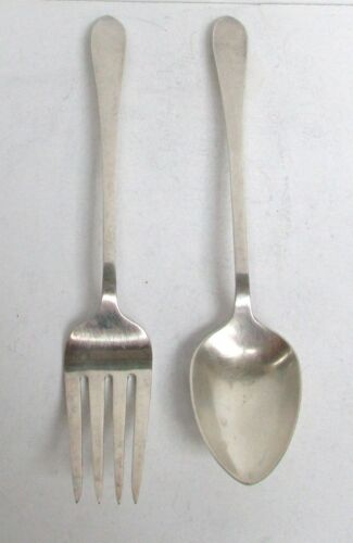 DANISH STERLING SILVER IDENTICAL TO TIFFANY's FANEUIL SALAD SET