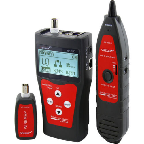 Network Coax Cable Tester Flashing Port Function