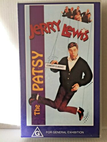 JERRY LEWIS ~ THE PATSY ~ BRAND NEW & SEALED PAL VHS VIDEO