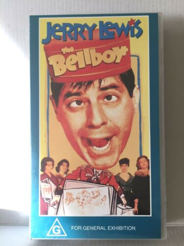 JERRY LEWIS ~ THE BELLBOY ~ BRAND NEW & SEALED PAL VHS VIDEO