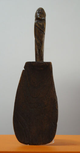 Sale $50 off  Indonesian Rice Ladle/Beater with great patina