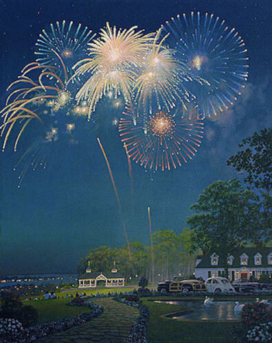 """William PHILLIPS  """" BEST SEAT IN THE HOUSE  """" Limited Edition Giclee Canvas NEW!"""
