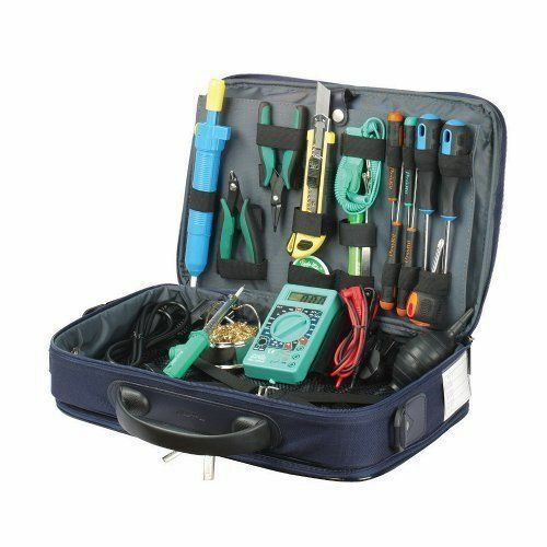 PROKIT Computer Service Technician Tool Kit  Includes a variety of tools