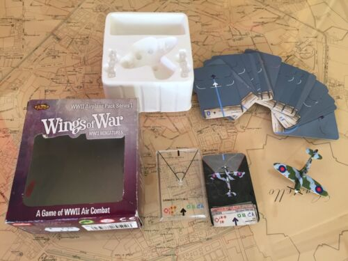 Wings of War Game WWII - Airplane Pack Series 1 - Supermarine Spitfire MKII
