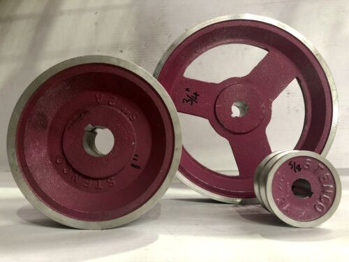 Aluminium V Belt Pulley - A Section - Double Groove