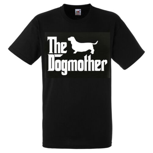 Basset Hound Dog Mother T SHIRT The Dogmother