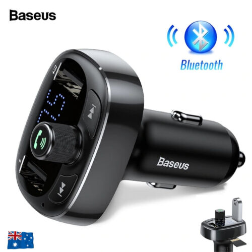 Handsfree Wireless Bluetooth Car Kit FM Transmitter Radio MP3 Player USB Charge