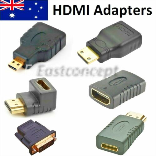 Micro Mini HDMI Male To HDMI Female Adapter Converter Connector For Tablet PC TV