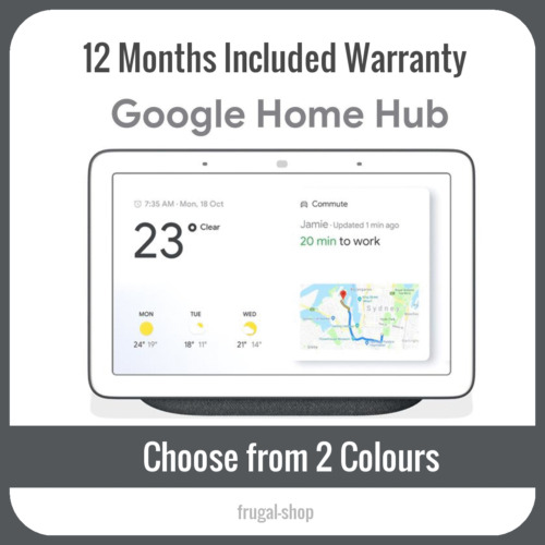 Google Home Hub Smart Home Controller Chalk Charcoal ($130.9 with code PANTHER)