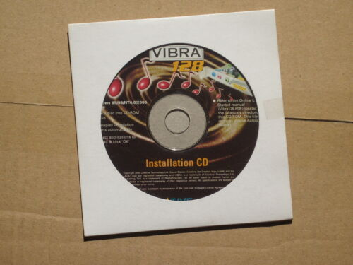 Creative Vibra 128 Installation CD - USED