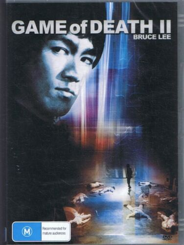 GAME OF DEATH II DVD Starring Bruce Lee NEW & SEALED Free Post