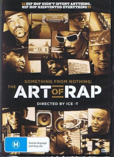 THE ART OF RAP (Directed By Ice-T) Something From Nothing - NEW & SEALED DVD