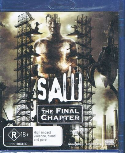 Saw - The Final Chapter - BLU-RAY Region B NEW & SEALED