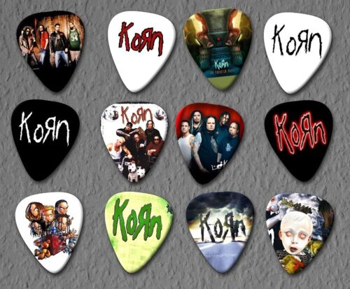KORN - Guitar Picks - Set of 12