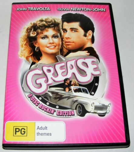 GREASE---(DVD 2 Disc Set)