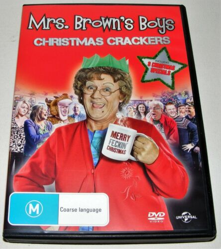 Mrs Brown's Boys : Christmas Crackers---Dvd)