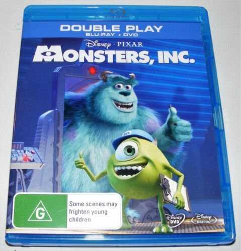 Monsters, Inc.--- (Blu-ray, 2-Disc Set)
