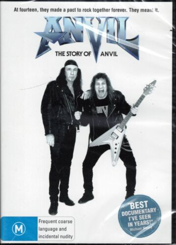 THE STORY OF ANVIL DVD Canadian Heavy Metal Band Documentary NEW & SEALED