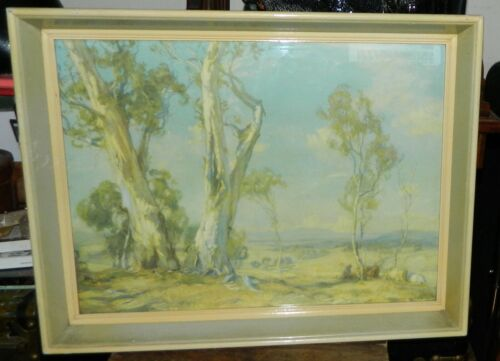 A Summer's Day from the original painting by HANS HEYSEN Connell Coll. Print