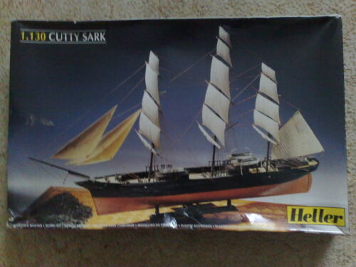 Model made by Heller Scale 1/130 New Cutty Sark.