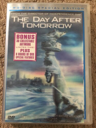 The Day After Tomorrow DVD - 2 Disc Deluxe Edition (Region 4)