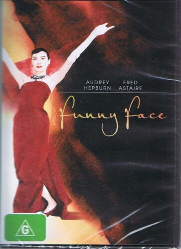FUNNY FACE DVD Starring Audrey Hepburn & Fred Astaire NEW & SEALED Free Post