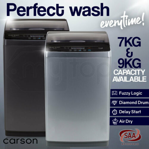 【UP TO 20%OFF】CARSON Top Load Washing Machine Laundry Automatic Washer Dry <br/> Up to 20% OFF. Try PLEASE10 in Checkout. T&Cs Apply