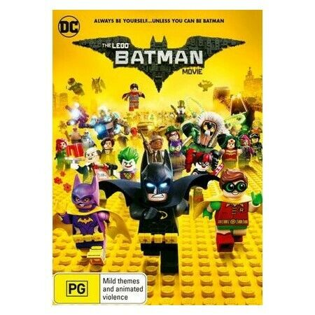 The Lego Batman Movie : Always be yourself . . . unless y- Pre-Owned (R4) (D308)