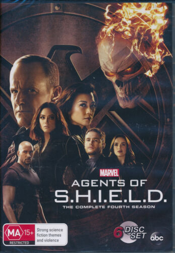 Agents of S.H.I.E.L.D.Complete Fourth Season 4 Four DVD NEW Region 4