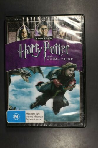 Harry Potter and the Goblet of Fire - (R4) (D350)