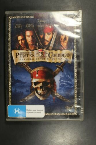 Pirates of the Caribbean The Curse of the Black Pearl - (R4) (D354)