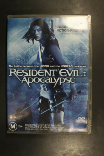 Resident Evil - Apocalypse, Milla Jovovich, Oded Fehr -  Pre-Owned (R4) (D355)