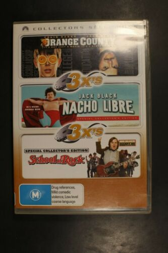 Orange County and Nacho Libre and School Of Rock - Pre-Owned (R4) (D360)