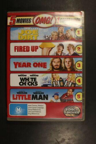 Joe Dirt / Fired Up / Year One / White Chicks / Little Ma- Pre-Owned (R4) (D361)