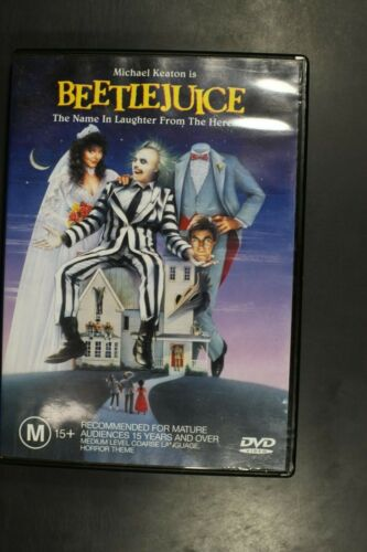 Beetlejuice (Michael Keaton)   - Pre-Owned (R4) (D367)