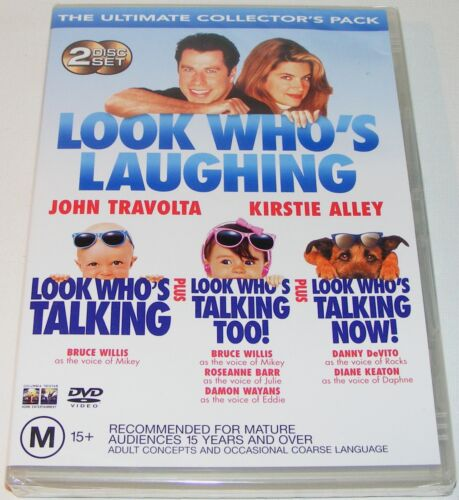 Look Who's Laughing--- (DVD, New & Sealed, 2003, 2-Disc Set)