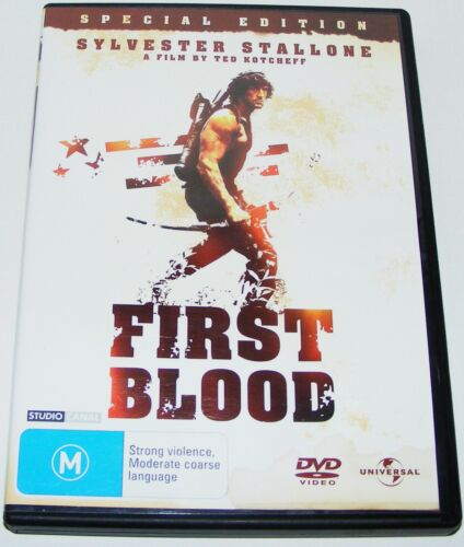 RAMBO: FIRST BLOOD  Special Edition---(Dvd)