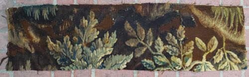 An Antique Tapestry Fragment with Plants