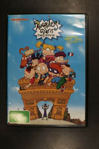 Rugrats in Paris: The Movie - (R4) (D384)