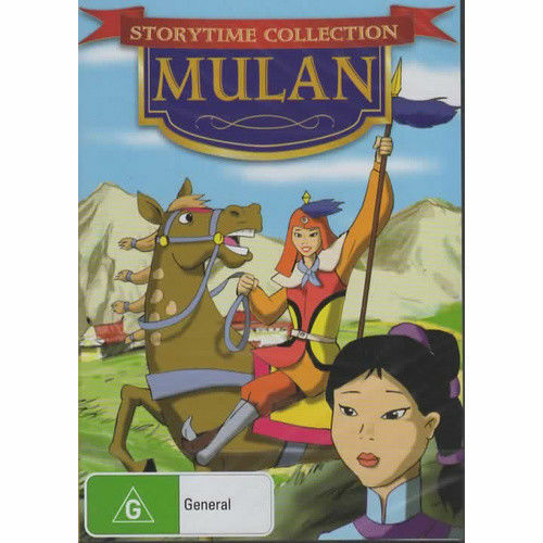 Mulan - Storytime Collection- new Sealed (R4) (D392)