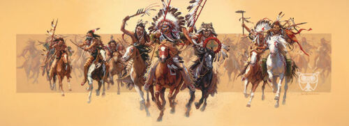 Bev Doolittle BEYOND NEGOTIATIONS MUSEUM EDITION giclee canvas #271/350