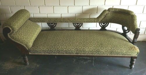 Gorgeous Antique Chaise Lounge