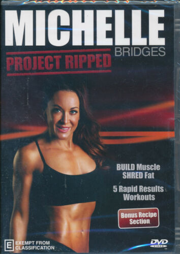 Michelle Bridges Project Ripped DVD NEW