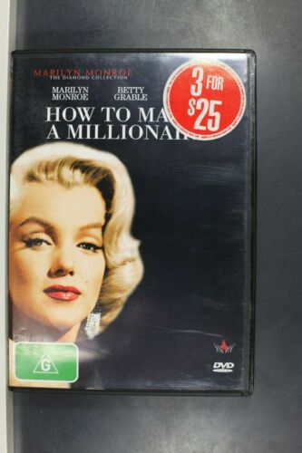 How To Marry A Millionaire - Marilyn Monroe- Pre Owned (R4) (D394)