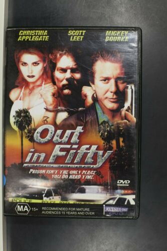 Out in Fifty - Christina Applegate - Mickey Rourke  - Pre Owned (R4) (D394)